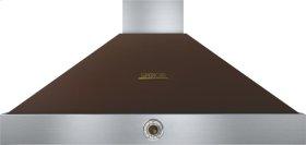 Hood DECO 48'' Brown matte, Bronze 1 power blower, analog control, baffle filters