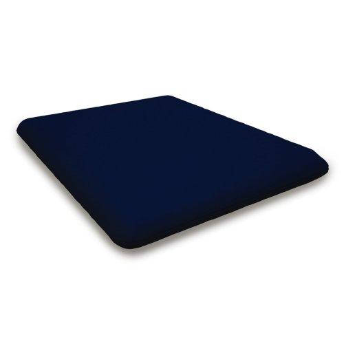 """Navy Seat Cushion - 17""""D x 20""""W x 2.5""""H"""