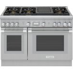 Thermador48-Inch Pro Harmony(R) Standard Depth Gas Range PRG486WLH