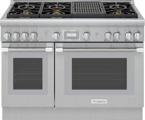 48-Inch Pro Harmony® Standard Depth Gas Range