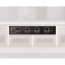 LCR Soundbar for Synergy Cabinets, Twin-Width