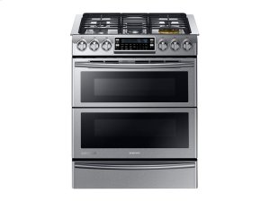 5.8 cu. ft. Slide-in Dual Fuel Range with Flex Duo and Dual Door Product Image