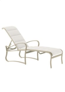 Shoreline Padded Sling Chaise Lounge