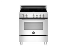 30 4-Induction Zones, Electric Convection Oven Stainless