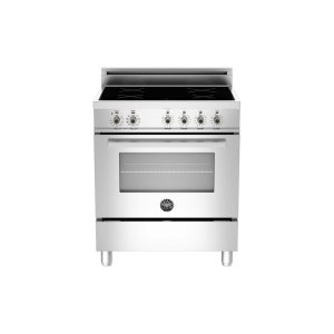30 4-Induction Zones, Electric Convection Oven Stainless -