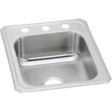 """Elkay Celebrity Stainless Steel 17"""" x 21-1/4"""" x 6-7/8"""", Single Bowl Drop-in Sink"""