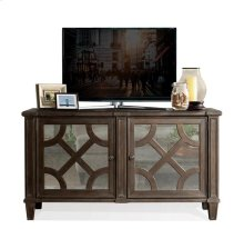 Verona Entertainment Console Dark Sienna finish