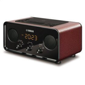 TSX-B72 DARK RED Desktop Audio System