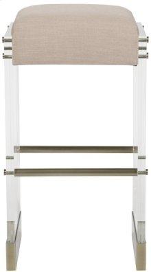 Bistro Acrylic Frame Bar Stool V376-BS