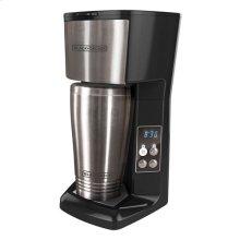 Single Serve Coffee Maker with Travel Mug