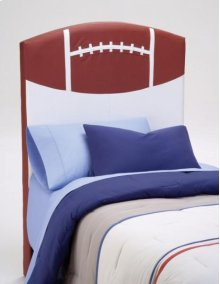 PU Youth Twin Headboard - Football