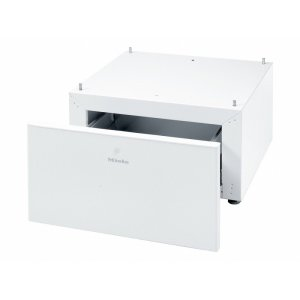 MieleWTS 510 Built-under plinth with drawer with integrated drawer for accessories, e.g., detergents or fragrance flacons.