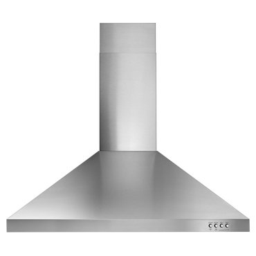 "30"" Contemporary Stainless Steel Wall Mount Range Hood"