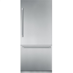 THERMADOR36 inch Stainless Steel Built in 2 Door Bottom Freezer, Pre-Assembled, Professional Handle T36BB920SS