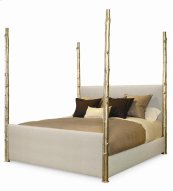 Wildwood Upholstered Poster Bed King Size 6/6