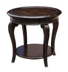 Continental Round Table Lamp - Vintage Melange