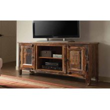 Reclaimed Wood TV Stand