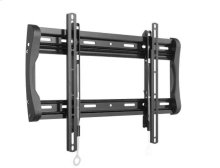 """Black Fixed-Position Wall Mount for 37"""" - 90"""" flat-panel TVs"""