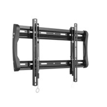 "Black Fixed-Position Wall Mount for 37"" - 90"" flat-panel TVs"