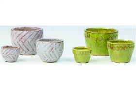 Navi Fairy Garden Pots - 2 Sets of each