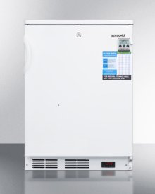 Built-in Undercounter Laboratory Freezer Capable of -35 C (-31 F) Operation
