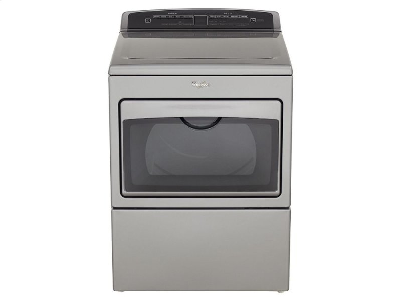 SCRATCH AND DENT 7 4 cu ft Top Load HE Electric Dryer with AccuDry ,  Intuitive Touch Controls