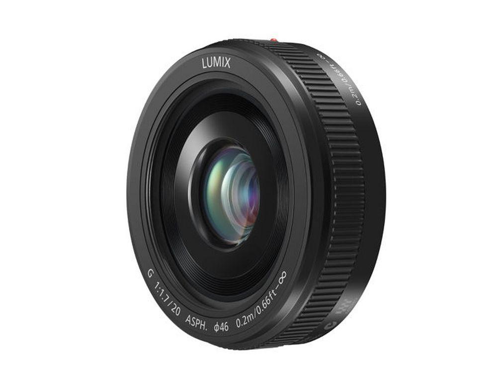 LUMIX G II Lens, 20mm, F1.7 ASPH., Micro Four Thirds - H-H020AK  BLACK