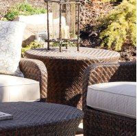 Belle Isle Round End Table Product Image