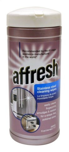 Affresh Stainless Steel Cleaning Wipes 35 wipes