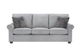 3 Cushion Sofa - Gray Microfiber Finish