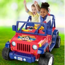 Power Wheels® Wonder Woman™ Jeep® Wrangler