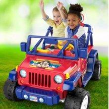Power Wheels® Wonder Woman™ Jeep® Wrangler