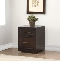 Greenwich 2 Drawer Rolling File Cabinet Product Image
