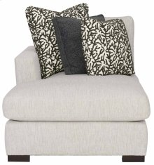 Nicolette Left Arm Chaise in Mocha (751)