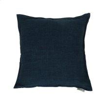 Lemmy Linen Feather Cushion Denim Blue 20x20