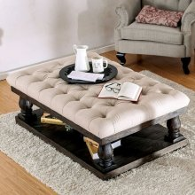 Keira Coffee Table W/ Cushion Top