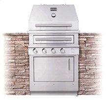 K500HB Hybrid Fire Built-in Grill
