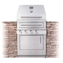 K500HB Hybrid Fire Built-in Grill