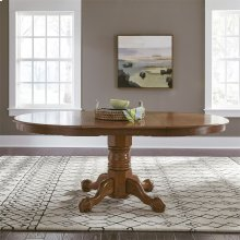 Single Pedestal Table Base