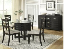 Altamonte Ladderback Chair (2/ctn) - Dark Charcoal