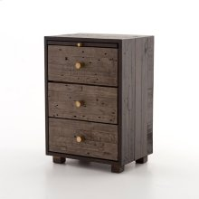 Calais 3 Drawer Nightstand