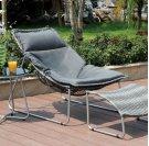 Lili Patio Chair W/ Ottoman Product Image