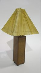 Embossed Leather Table Lamp Product Image