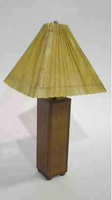 Embossed Leather Table Lamp