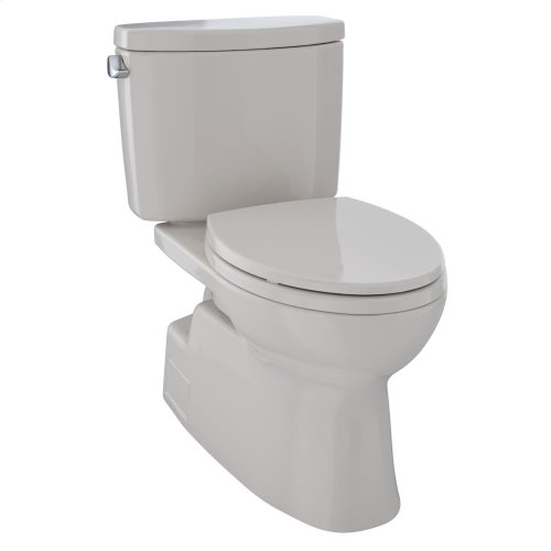 Vespin® II Two-Piece Toilet, Elongated Bowl - 1.28 GPF - Sedona Beige
