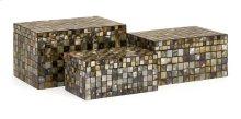 Noida Mosaic Boxes - Set of 3