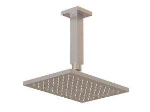 "Shower Rainhead, 4.75"" Ceiling Mount Arm - Brushed Nickel Product Image"