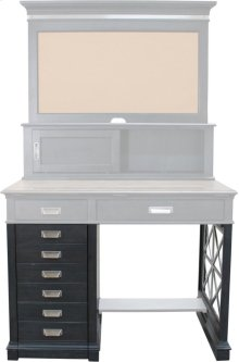 Architect's Desk Pedestal & Side Panel