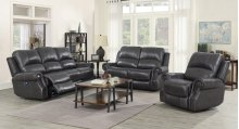 EM1196 Collection - 3 Piece Reclining Living Room Set with Power Headrests