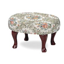 Traditional Floral Foot Stool